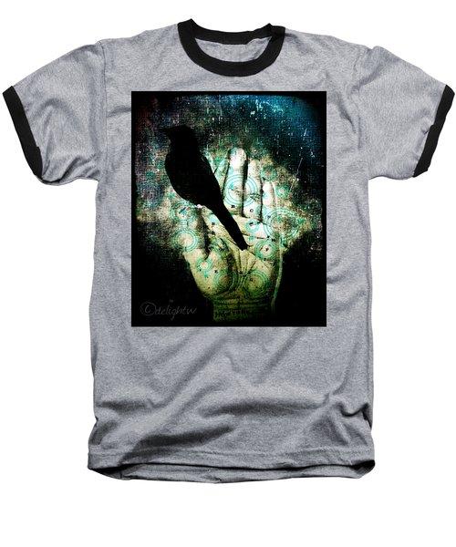 Bird In Hand Baseball T-Shirt
