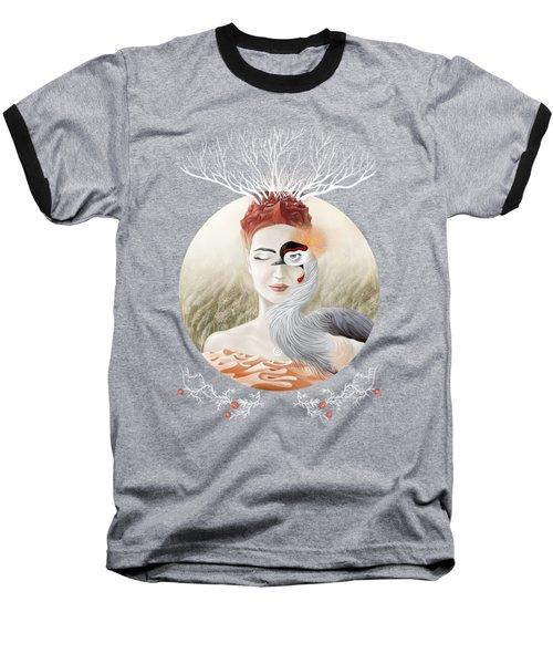 Bird Of Cranes Baseball T-Shirt