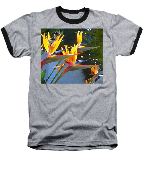 Bird Of Paradise Backlit By Sun Baseball T-Shirt