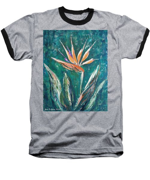 Bird Of Paradise Baseball T-Shirt
