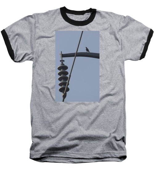 Bird On A High Wire Baseball T-Shirt