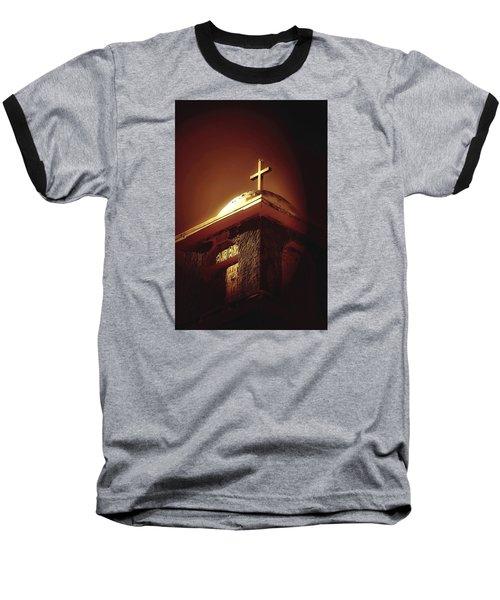 Bird On A Steeple Baseball T-Shirt