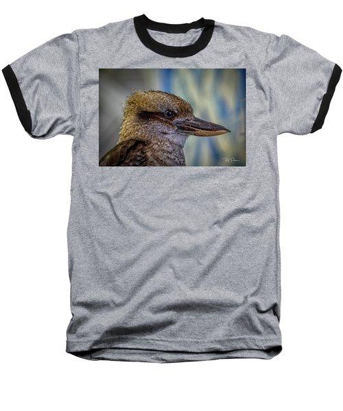 Bird Portrait Baseball T-Shirt