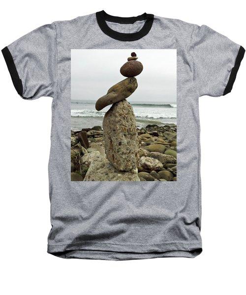 Bird Rock Art Baseball T-Shirt