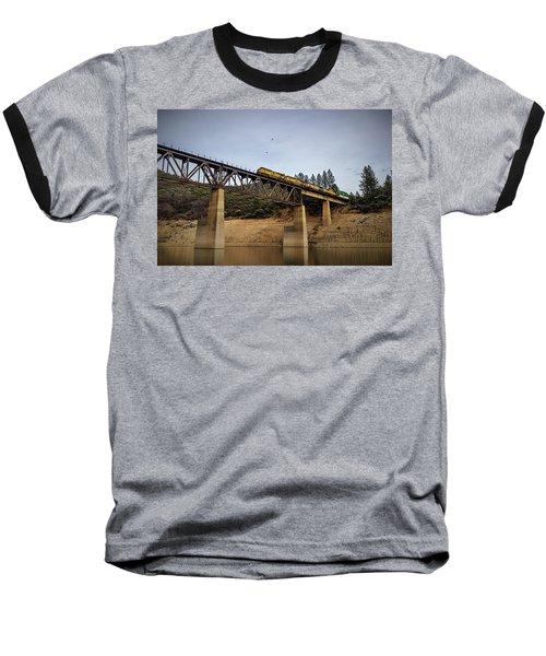 Bird Vs Train Baseball T-Shirt