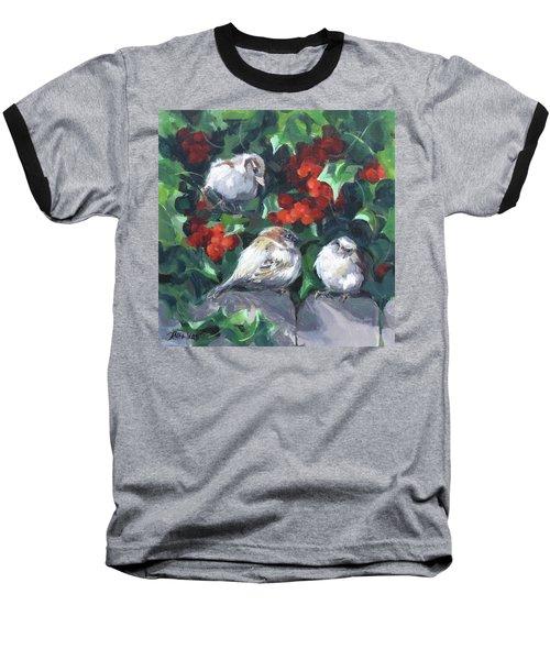 Bird Watching Baseball T-Shirt