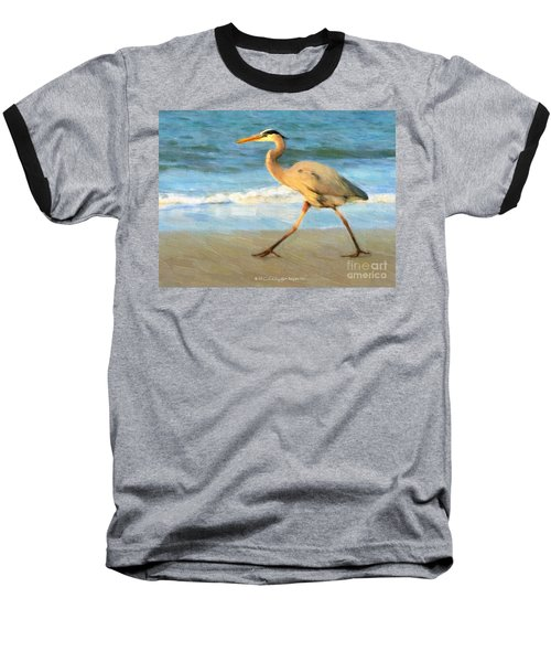 Bird With A Purpose Baseball T-Shirt