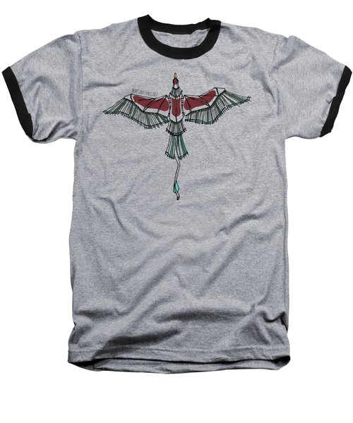 birdEYE volcano III Baseball T-Shirt
