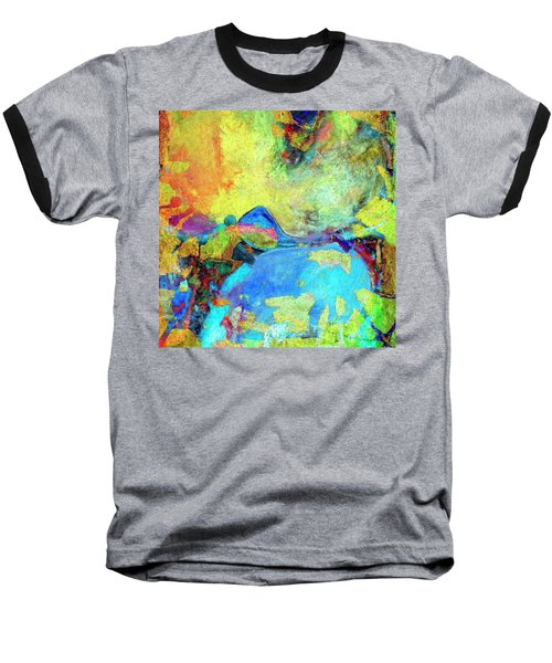 Baseball T-Shirt featuring the painting Birdland by Dominic Piperata