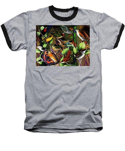 Birdland Baseball T-Shirt by Joseph Mosley