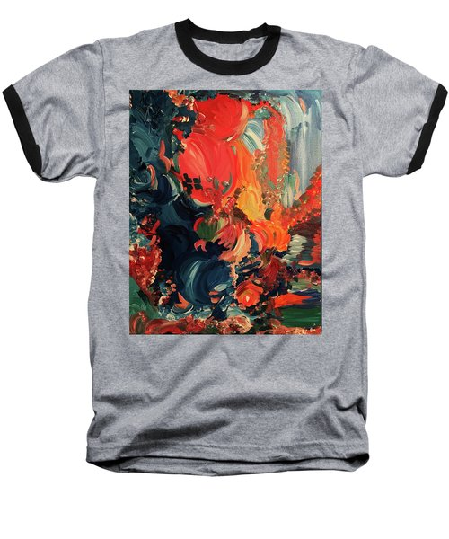 Birds And Creatures Of Paradise Baseball T-Shirt