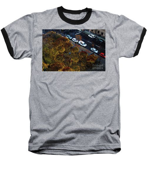 Bird's Eye Over Berlin Baseball T-Shirt