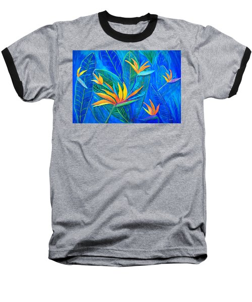 Birds Of Paradise In Florida Baseball T-Shirt