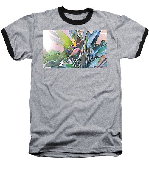 Birds Of Paradise  Baseball T-Shirt