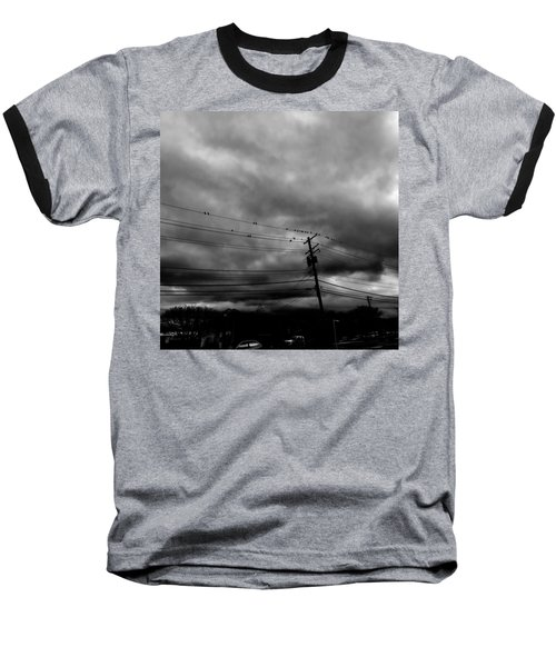 Birds On A Wire 2018 Baseball T-Shirt