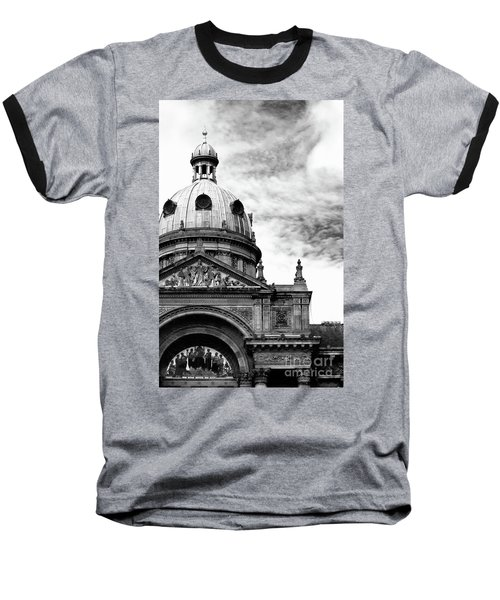 Birmingham Council House  Baseball T-Shirt by Stephen Melia