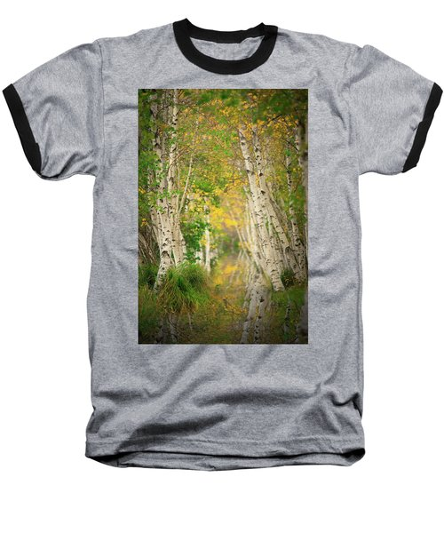 Baseball T-Shirt featuring the photograph Birtch Row  by Emmanuel Panagiotakis