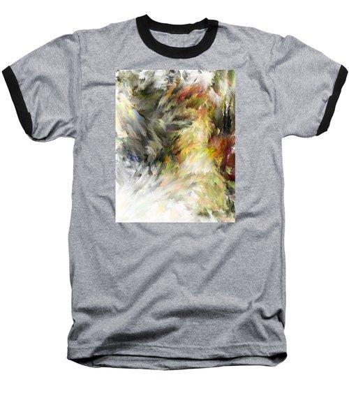 Birth Of Feathers Baseball T-Shirt by Dale Stillman