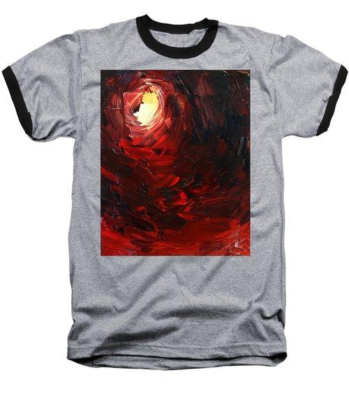 Birth Baseball T-Shirt by Sheila Mcdonald