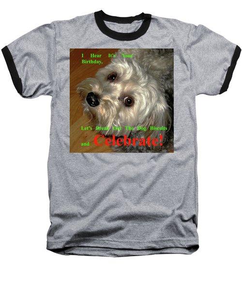 Birthday Baseball T-Shirt by Dale Ford