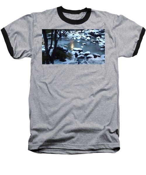 Birthday Saturn Cycle Baseball T-Shirt