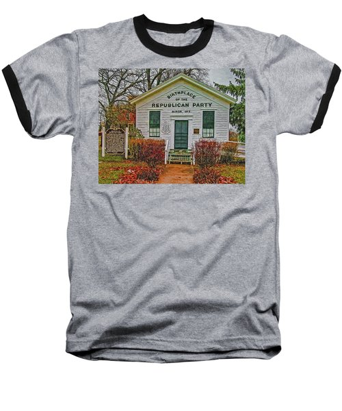 Birthplace Republican Party Baseball T-Shirt