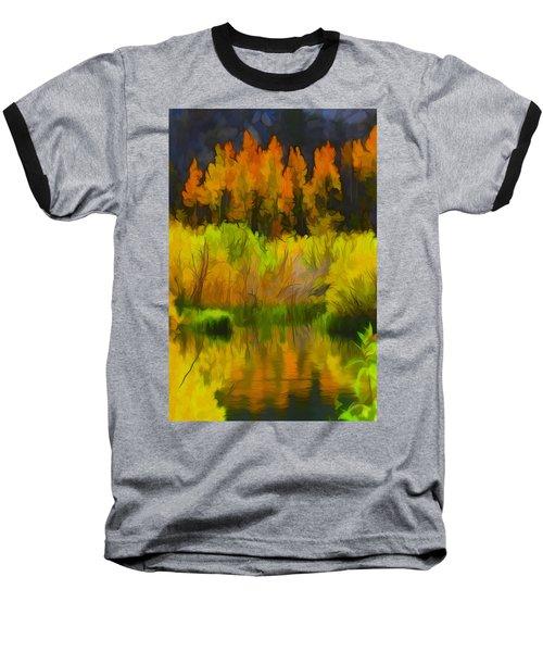 Bishop Creek Aspens Baseball T-Shirt