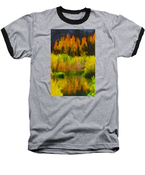 Bishop Creek Aspens Baseball T-Shirt
