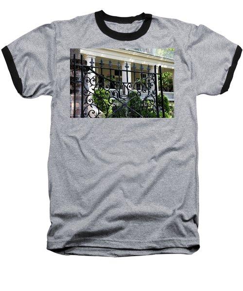 Bishop's Gate Baseball T-Shirt by Ed Waldrop