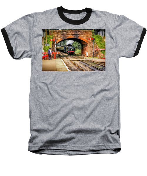 Bishops Lydeard Station, Uk Baseball T-Shirt