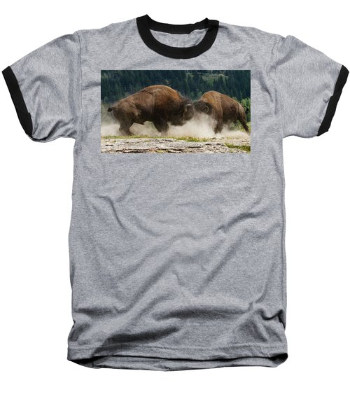 Bison Duel Baseball T-Shirt
