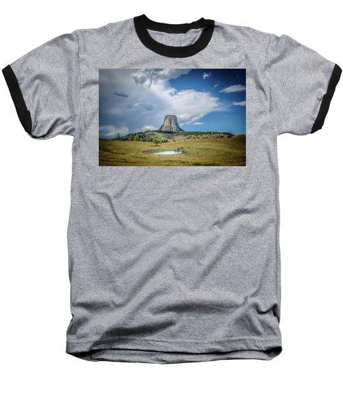 Bison Pond Baseball T-Shirt by Mark Dunton