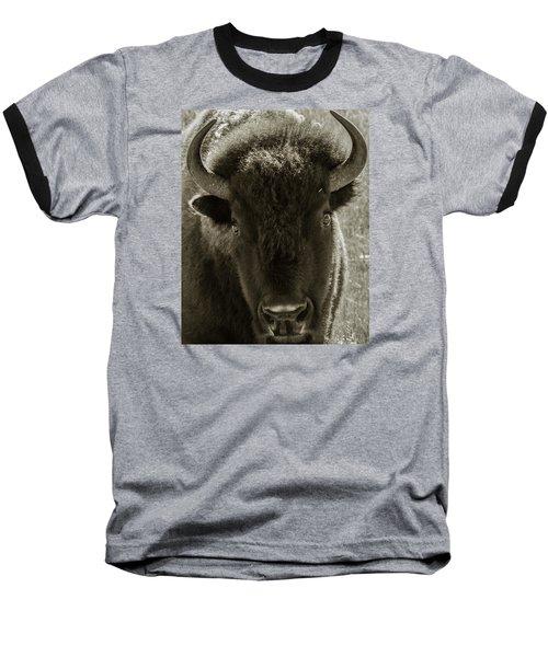 Bison Surprise Baseball T-Shirt