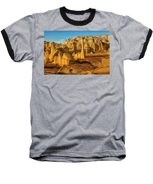 Bisti Badlands Fantasy Baseball T-Shirt by Alan Vance Ley