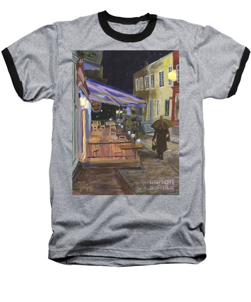 Bistro Sous Le Fort Baseball T-Shirt