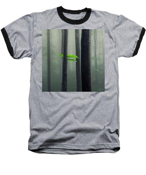 Bit Of Green Baseball T-Shirt