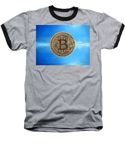 Bitcoin Revolution Baseball T-Shirt