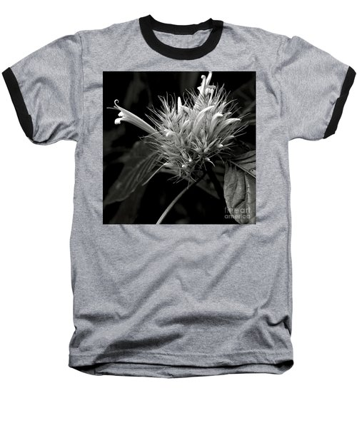 Bizarre Flower Charm Baseball T-Shirt