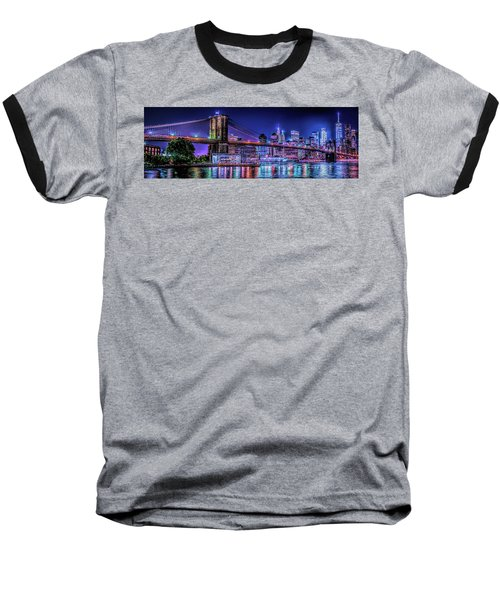 Baseball T-Shirt featuring the photograph Bk Glow by Theodore Jones