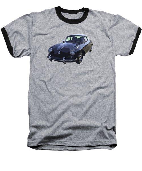 Black 1962 Porsche 356 E Sportscar  Baseball T-Shirt