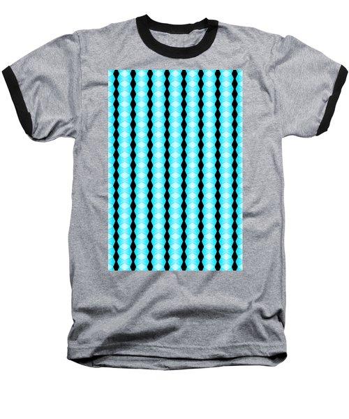Black And Blue Diamonds Baseball T-Shirt