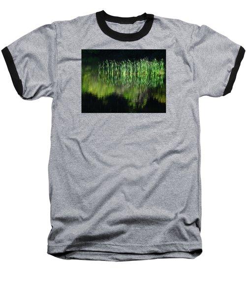 Black And Green Baseball T-Shirt