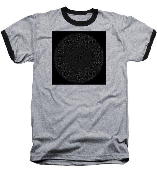 Baseball T-Shirt featuring the digital art Black And White 3 by Robert Thalmeier