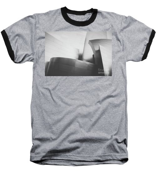 Baseball T-Shirt featuring the photograph Black And White Arcitechture by MGL Meiklejohn Graphics Licensing