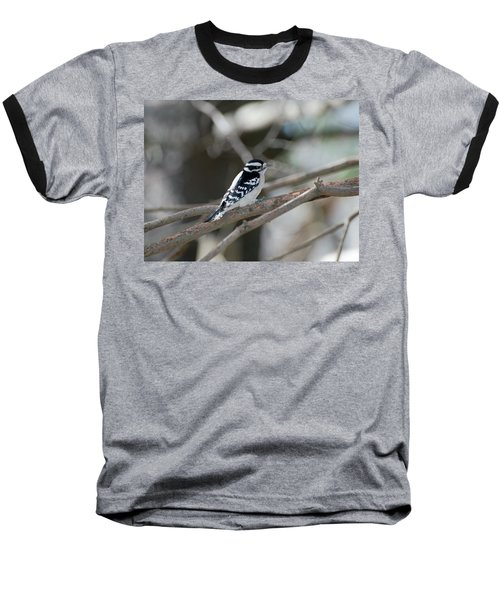 Black And White Bird Baseball T-Shirt