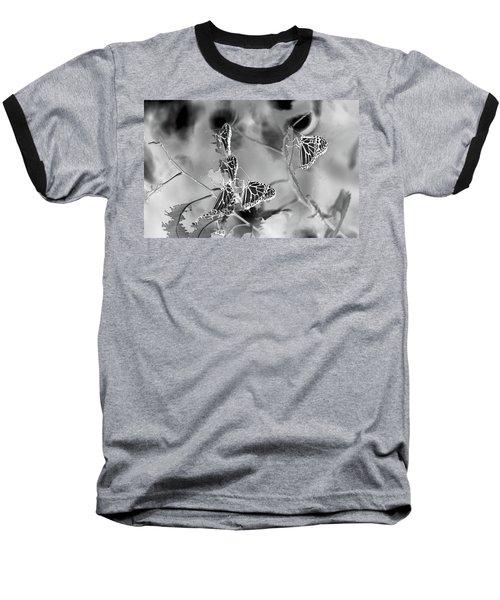 Black And White Monarchs Baseball T-Shirt