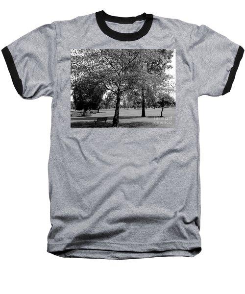 Black And White Nature Baseball T-Shirt
