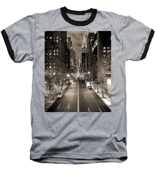 Black And White New York Baseball T-Shirt