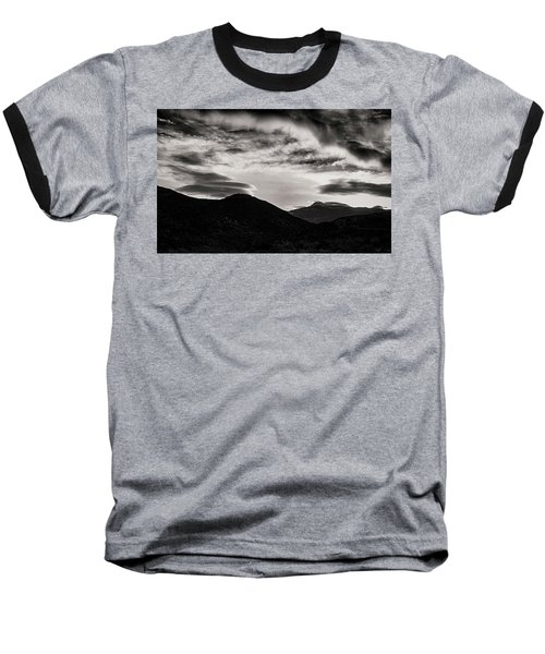 Baseball T-Shirt featuring the photograph Black And White Sunrise by Joseph Hollingsworth