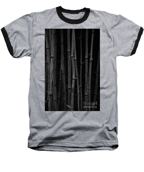Black Bamboo Baseball T-Shirt
